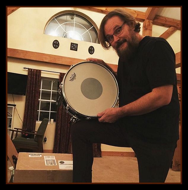 Tommy Harden (Lost Hollow Band, Reba McEntire) and his new Beier 1.5 Steel Snare--5.5 x 14-