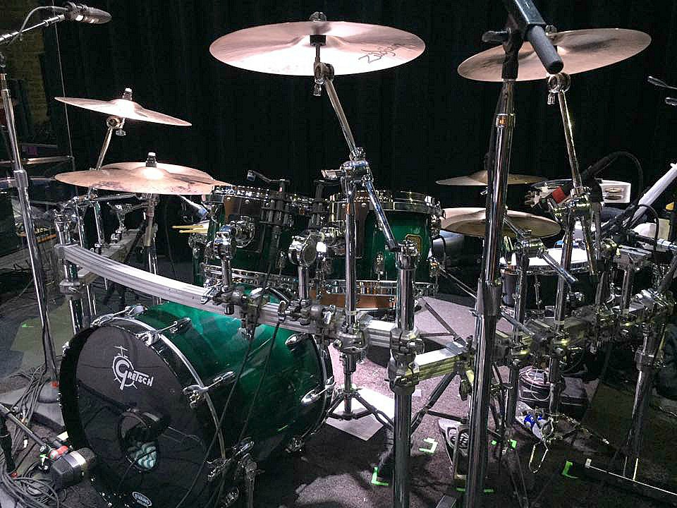 David Northrup's kit for the 2017 Boz Scaggs Tour with his Beier 1.5 Steel--5.5 x 12.....