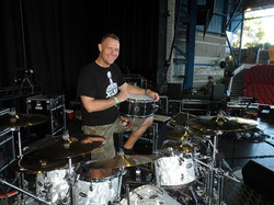 Tracy Broussard-Sound Check with Blake Shelton-Beier 1.5 Steel--6.5 x 14...
