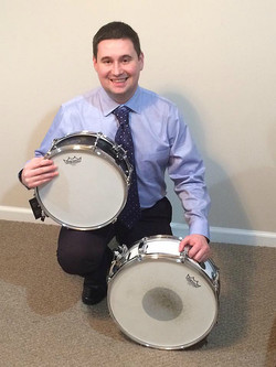 Bill Dilla, one of Todd Sucherman's students, & his Beier 1.5 Steel--5.5 x 15 & 5.5 x 12...TX Bill!