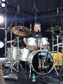 Mike Zimmerman-CMA Fest 2017 at Nissan Stadium with Kenny Rogers & his Beier 1.5 Steel--6.5 x 14...