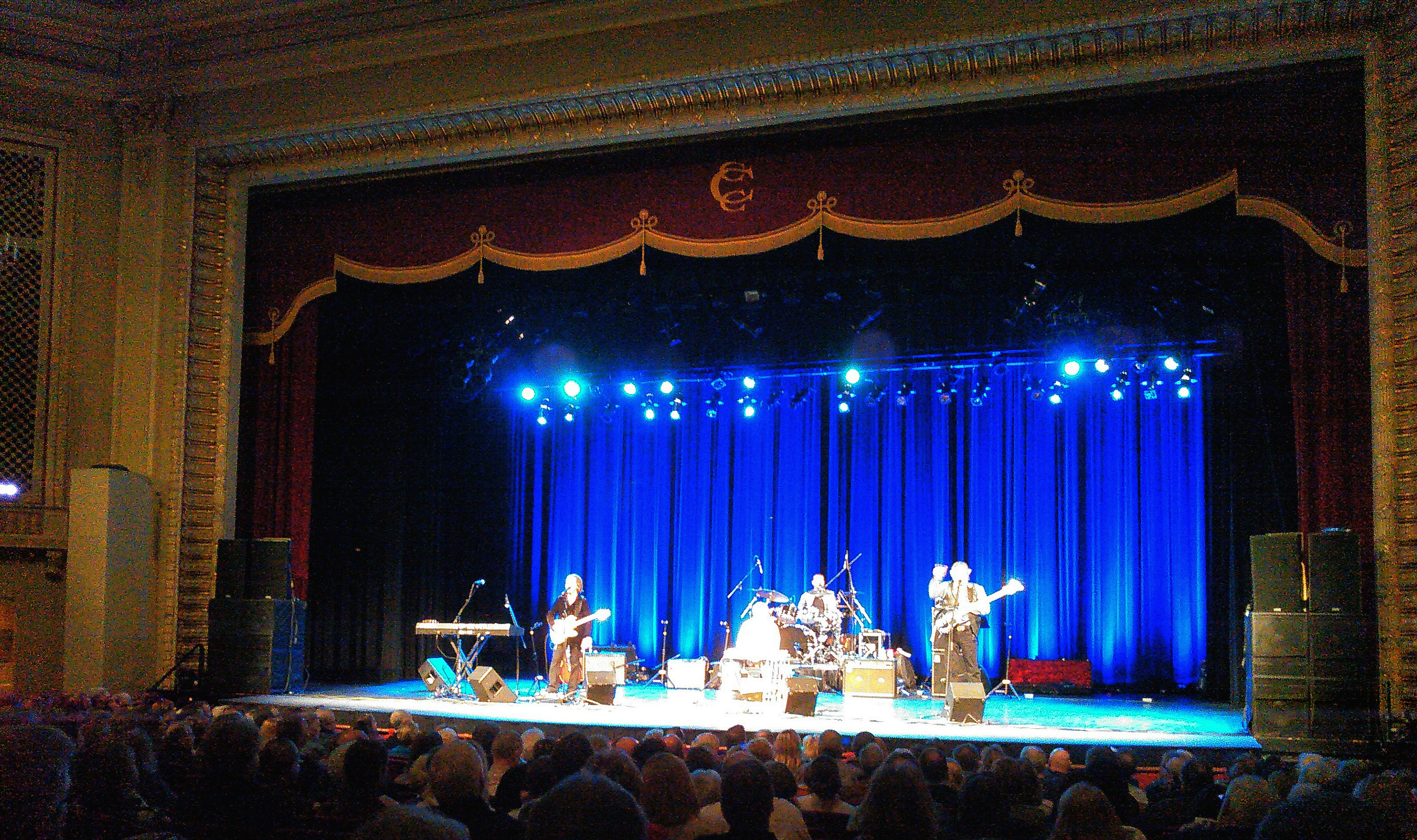 Scott Thompson live with Pure Prairie League-Capitol Civic Center-Manitowoc, WI-1.5 Steel--4 x 15~