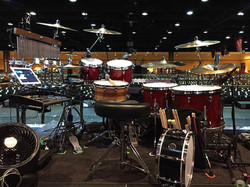 David Northrup's kit-Oak Ridge Boys Christmas Tour-Iowa-Beier 1.5 Steel--6.5 x 14~