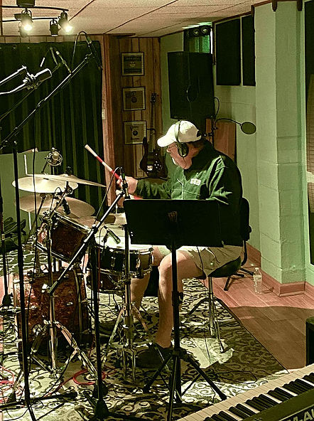 Randy Vaughn at  BluVudu Productions rec