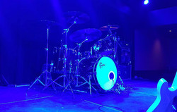 Chad Melchert's kit-CCMA Drummer Of The Year 2016-(Gord Bamford)-1.5 Steel--4 x 15...