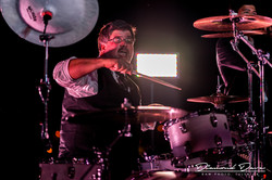 Mat Donaldson of Drum World Tulsa...Live with his main-The Beier 1.5 Steel--8 x 14 & his band Weston