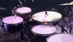 Another view of Keith Zebroski's kit-Miranda Lambert- Highway Vagabond Tour 2017-1.5 Steel--7.5 x 14