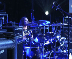 Steven Sweet live with Warrant and his Beier 1.5 Steel Snare--8 x 15-