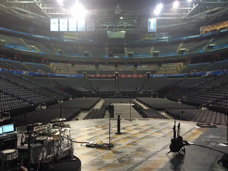 Tracy Broussard's kit-Live with Blake Shelton-Oklahoma-Beier 1.5 Steel Snare--6.5 x 14....