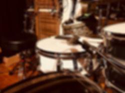 Erik Eldenius' kit in the studio in 2018