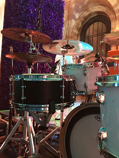Steve Fruda's live kit with The Eleven &