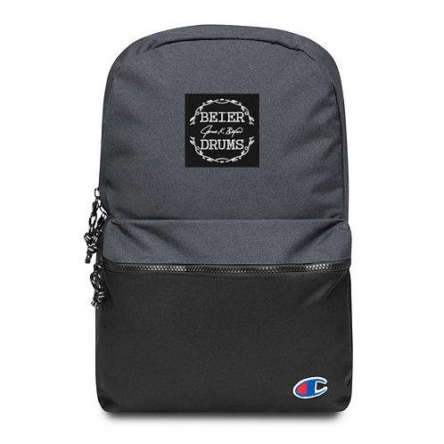 *Embroidered Champion Backpack