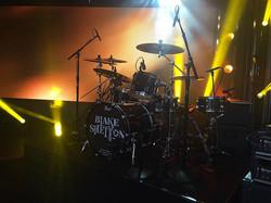 Tracy Broussard's kit-Jimmy Kimmel Live-1.5 Steel--6.5 x 14..