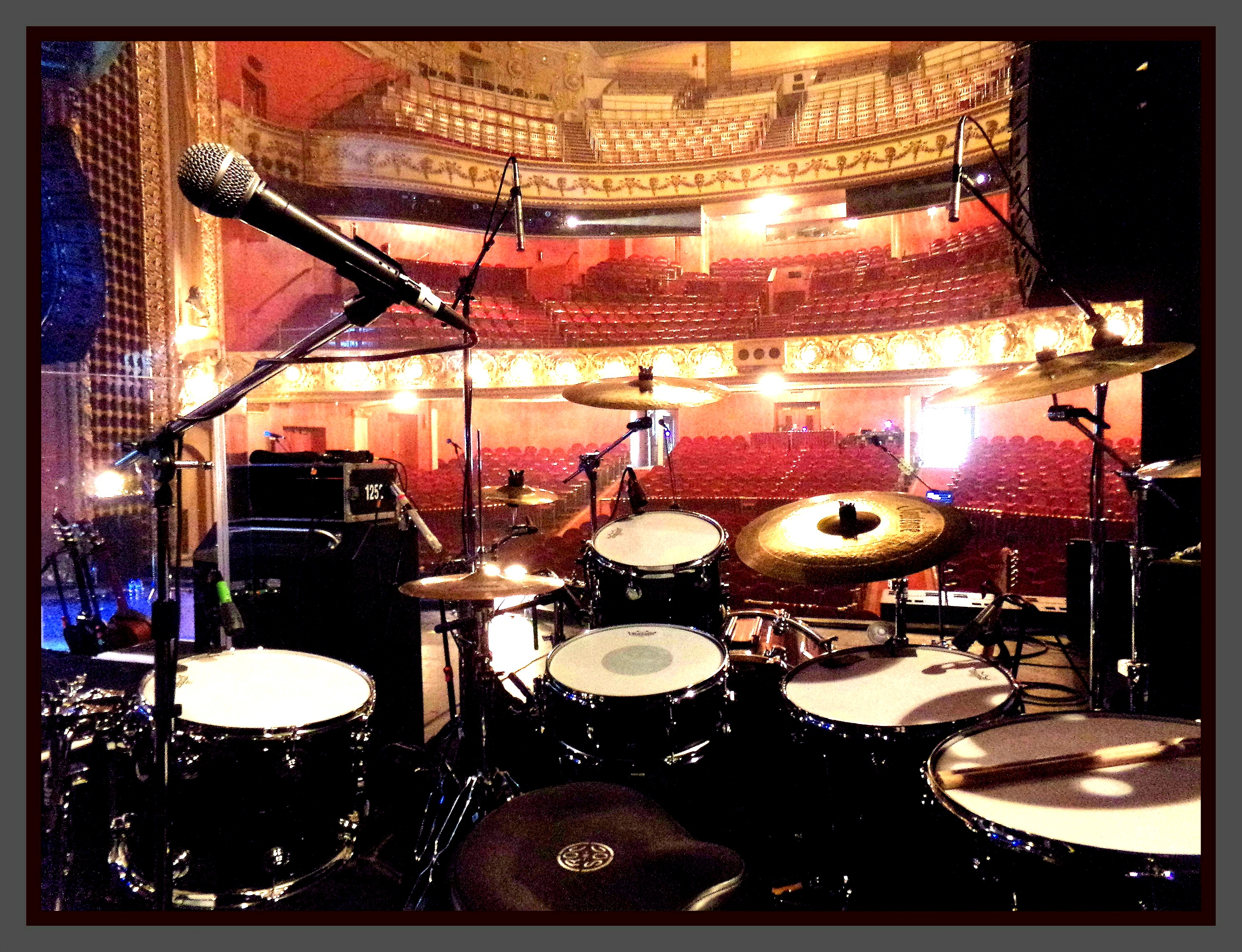 Danny Thompson-Alan Parsons Live Project-Pabst Theater, Milwaukee--1.5 Steel--5.5 x 14-