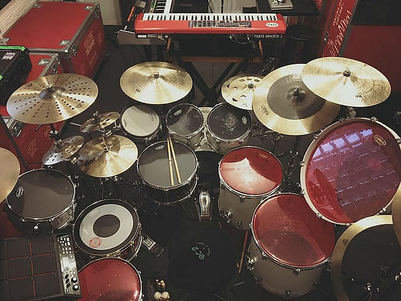 Greg (Stix) Landfair Jr.'s kit for Lolla