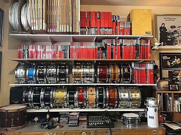 Personal drums for a Nashville legend, a