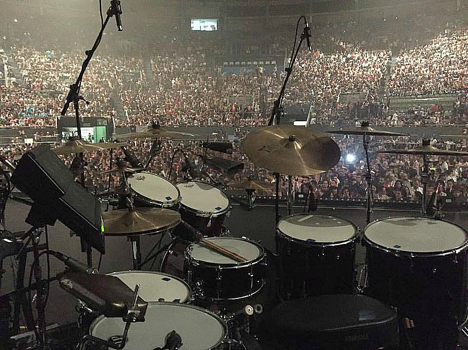 Tony Escapa's kit-Ricky Martin-One World Tour-Madrid, Spain-2016-Beier 1.5 Steel--6.5 x 14..