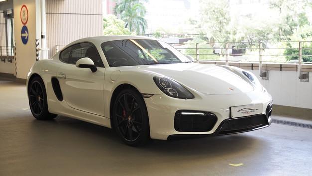 Porsche Cayman S (981)