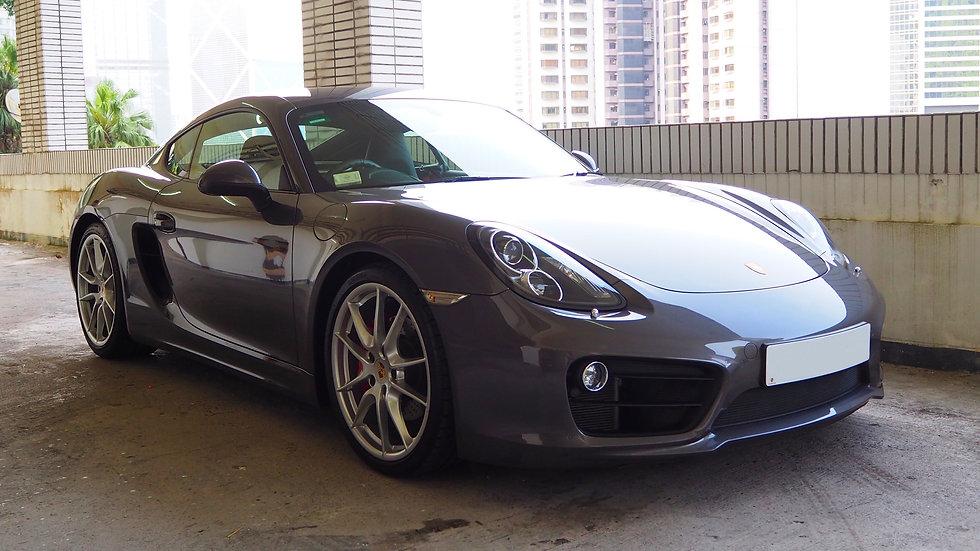 Porsche Cayman S MT (981)