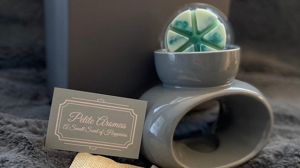Deluxe Wax Melt & Burner Gift Set