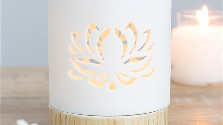 White Lotus Cut Out Burner