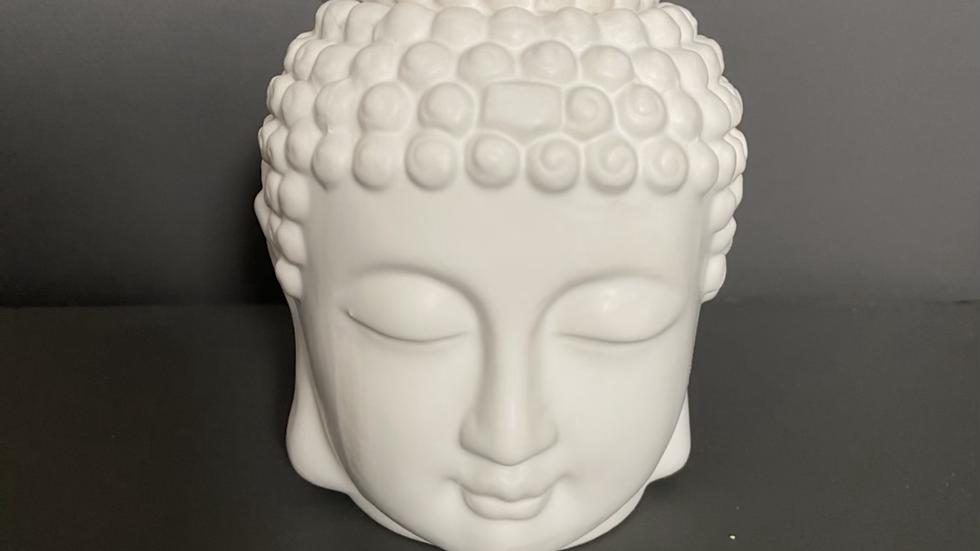 White Buddha Head Burner