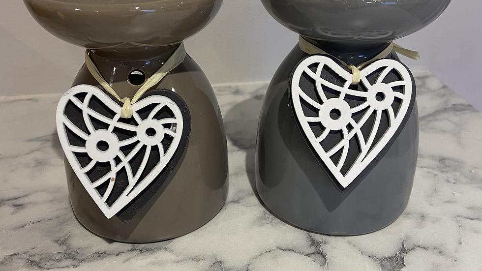 Ceramic Hanging Heart Burner