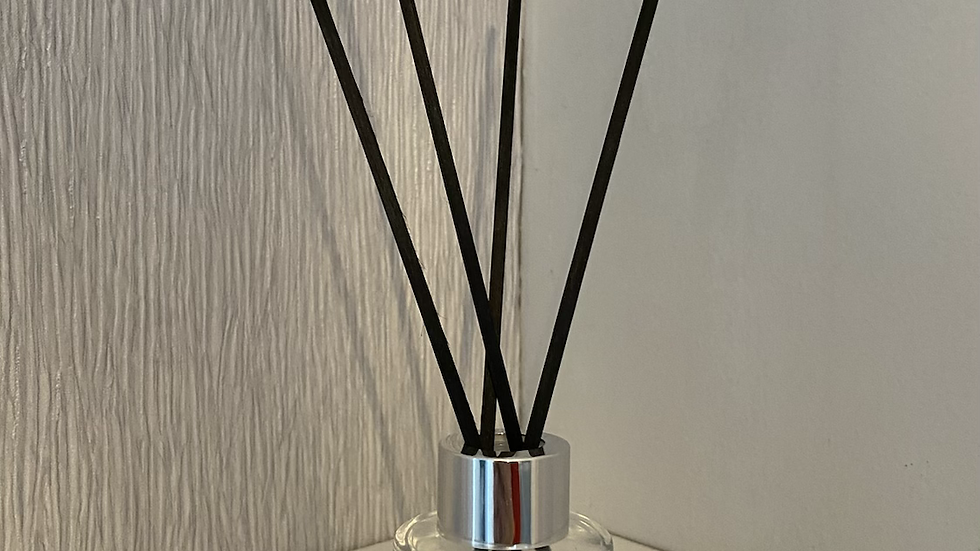 Mini Clear Round Reed Diffuser