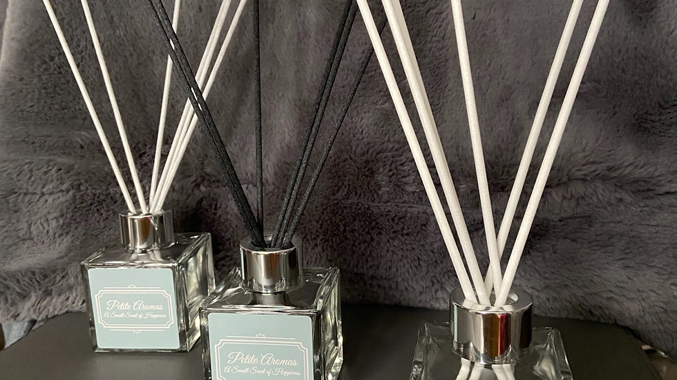 Clear Square Reed Diffuser