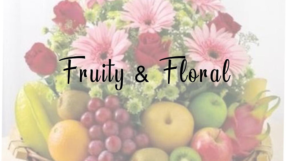 Wax Melts - Fruity & Floral Collection