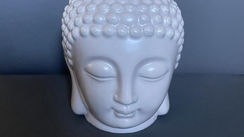 Grey Buddha Head Burner