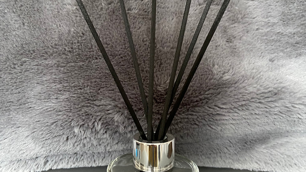 Clear Round Reed Diffuser