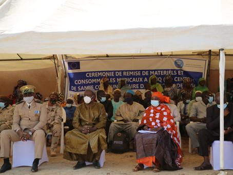 Région de Ségou: Le  PROJES équipe cinq (5) Centres de santé communautaires nouvellement construits
