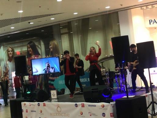 Кавер-группа Новосибирск Tribute Cover Band Свадебная выставка в ТЦ Галерея Новосибирск