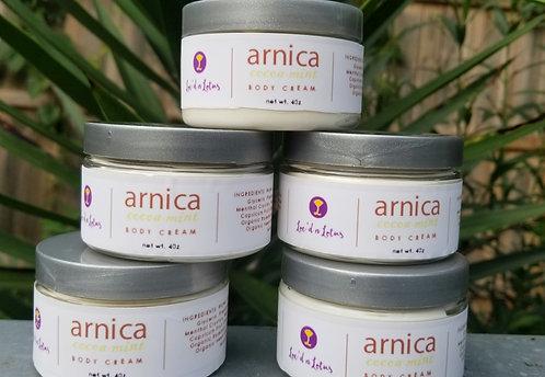 Arnica Mint Body Cream 4oz
