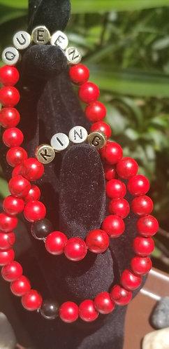 King/Queen Bracelet Set