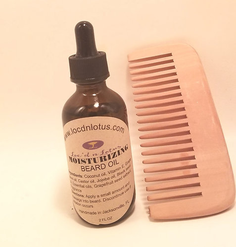 Moisturizing Beard Oil Set