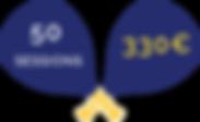 Carte 50 sessions Big Padel