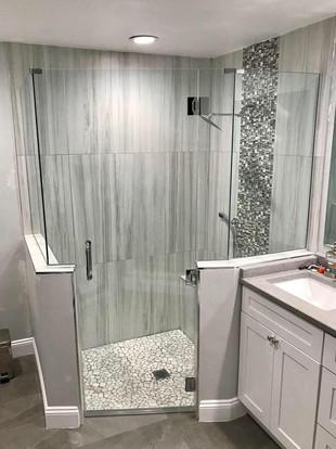 Shower door (16) - frameless neo-angle s