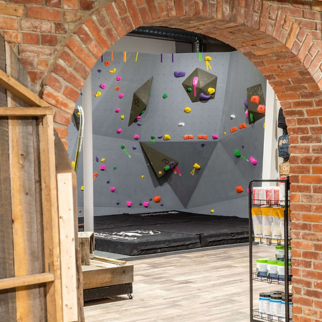 Fresh Tracks Outdoor Club Indoor Rock Climbing Wall