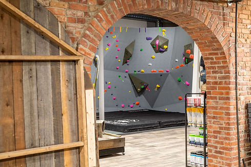 Fresh Tracks Outdoors Club Indoor Bouldeirng Rock Climbing Wall Grand Forks British Columbia