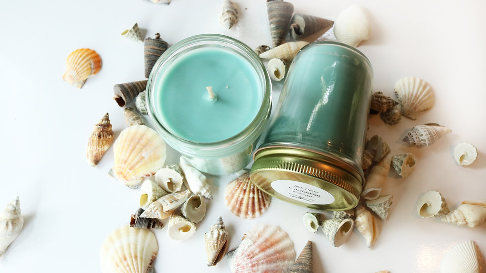 Caribbean Escape Scented 8 oz Candle
