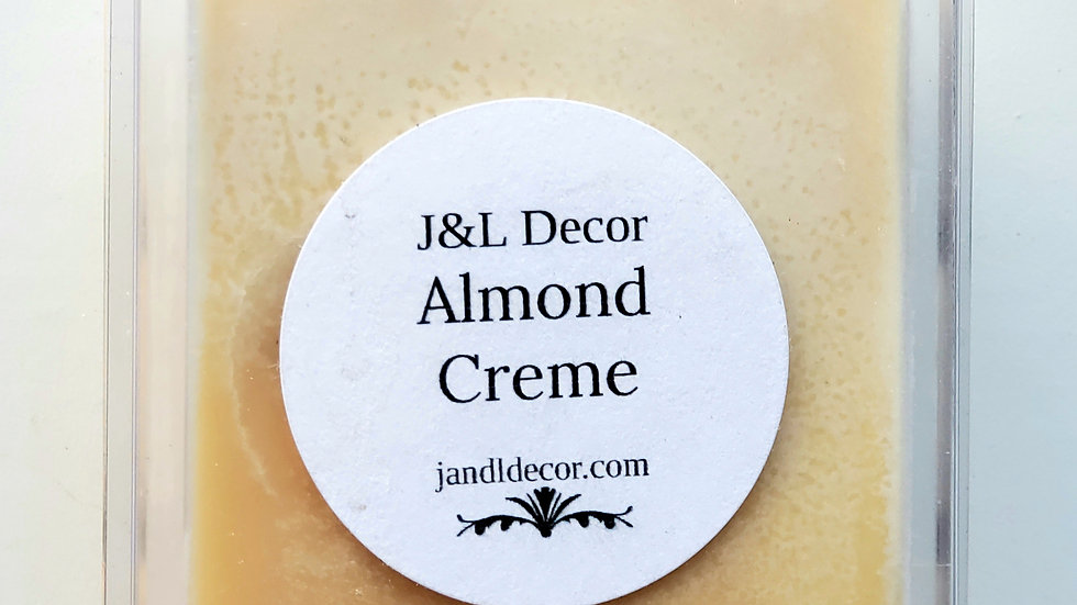 Almond Creme Wax Melt