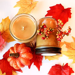 Handmade Pumpkin Pie 8 oz Soy Candle. Fall and Autumn Wholesale Scented Candles
