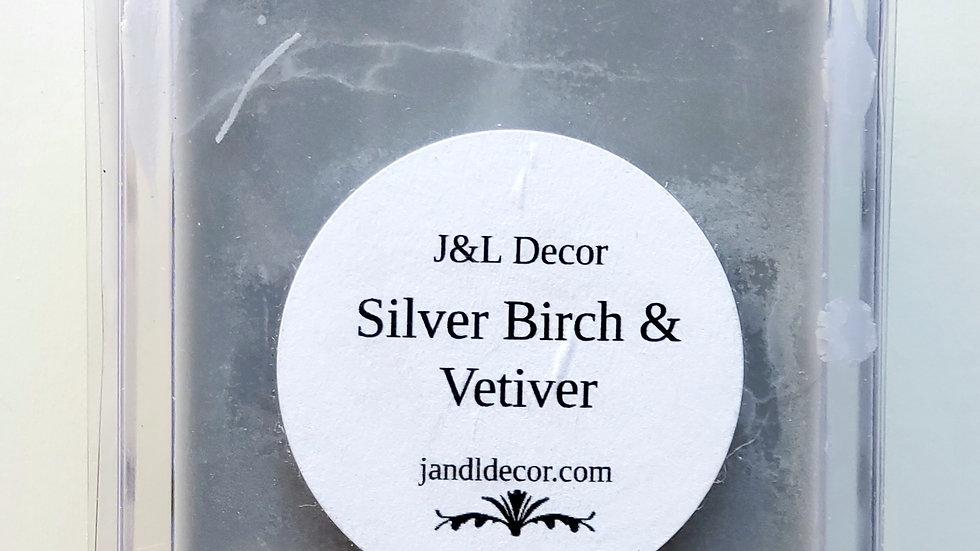 Silver Birch & Vetiver Wax Melt