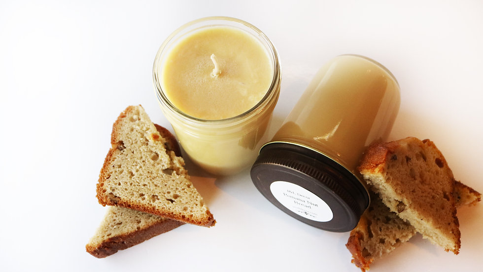 Banana Nut Bread 8 oz Soy Candle