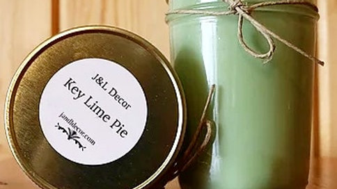 Key Lime Pie Scented 8 oz Candle