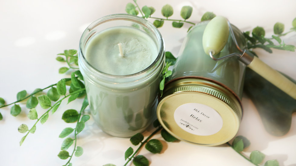Relax 8 oz Soy Candle