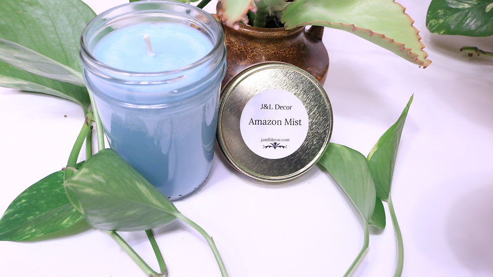 Amazon Mist Scented 8 oz Candle