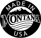 Picture of Made in Montana, USA logo. J&L Decor is Made in Montana approved